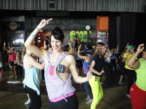Zumba Instructor Laval for Workplace Zumba